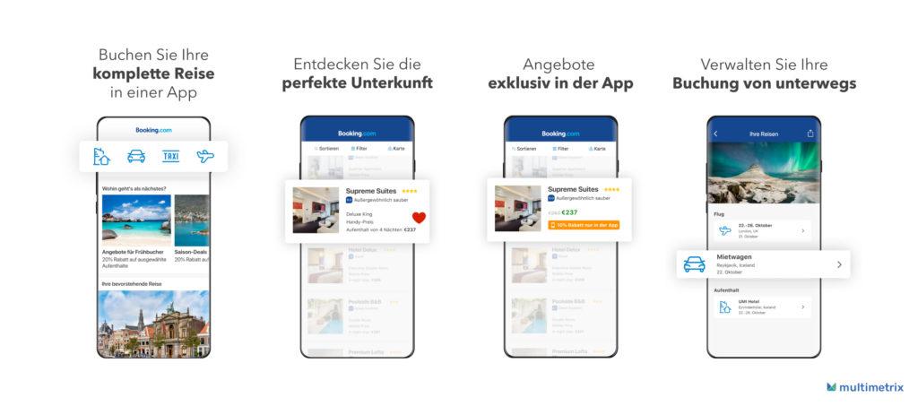 App Store Screenshots mit Zoom Effekt